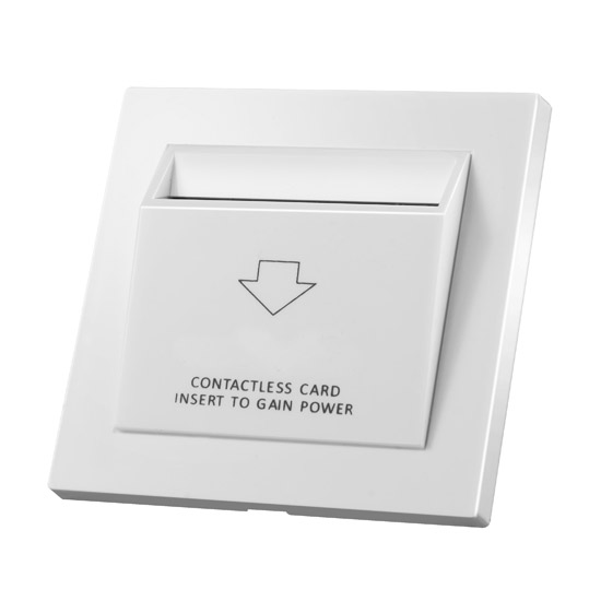 Energy saving switch working with IC cards