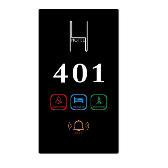 LED display for hotel rooms