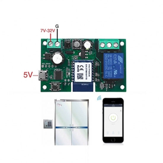SMILE DOOR WiFI module for control of electromagnetic locks